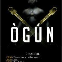 A atividade em homegagem a Ògún acontecerá no Sábado - dia 21.Abril.2018