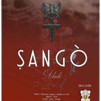 A atividade em homegagem a Sangò acontecerá no Sábado - dia 16.Junho.2018